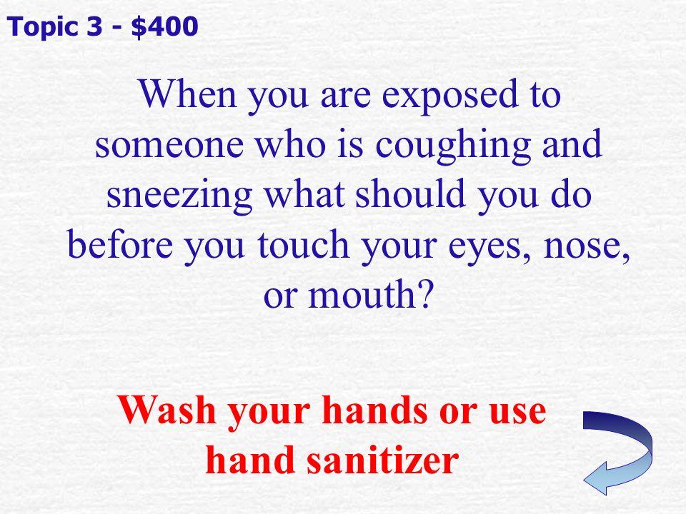 Name a common infectious disease.