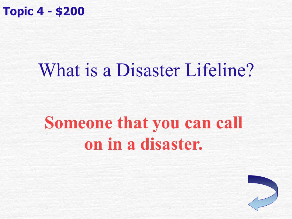 What kind of plan will help you to be able to connect with family during and after a disaster.