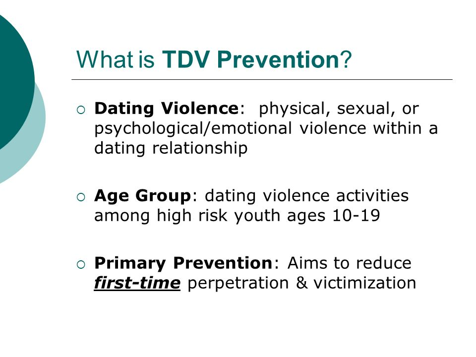 What is TDV Prevention.
