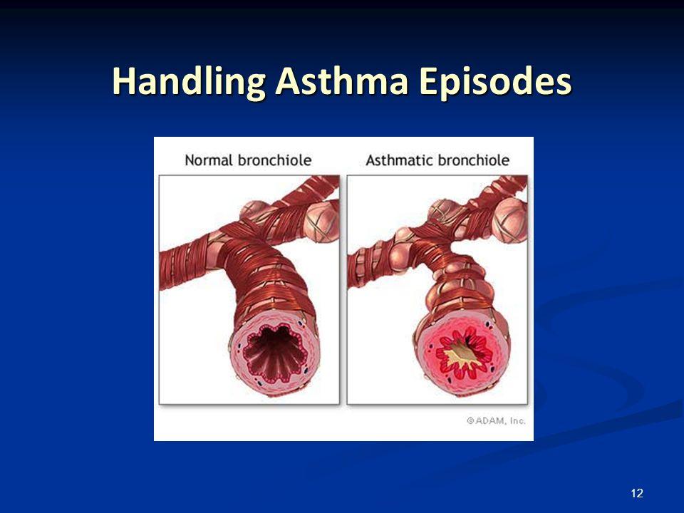 12 Handling Asthma Episodes