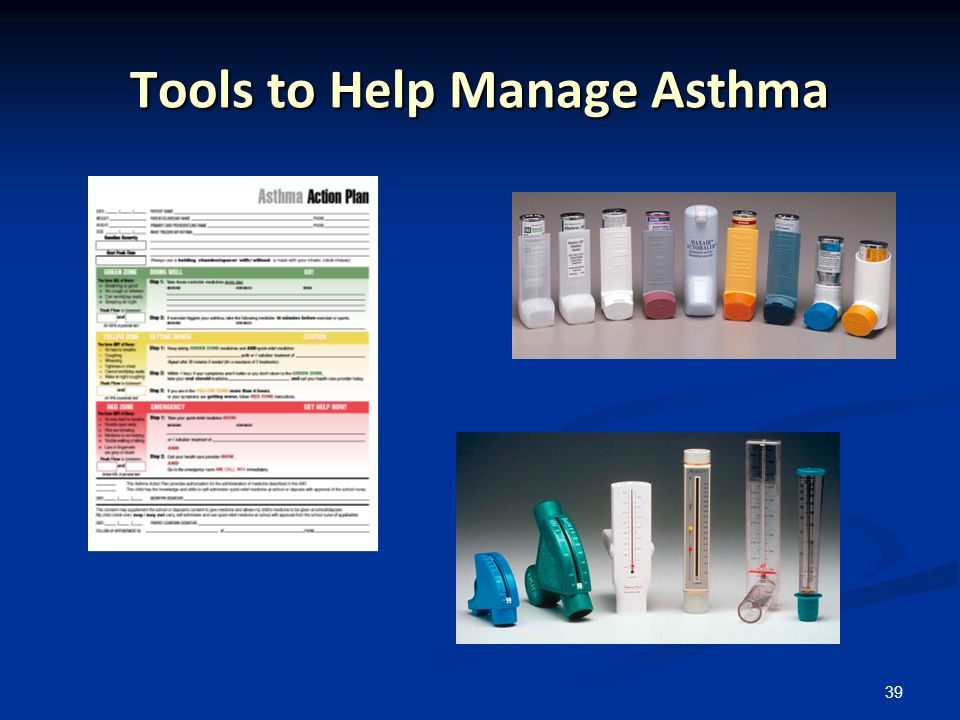 39 Tools to Help Manage Asthma