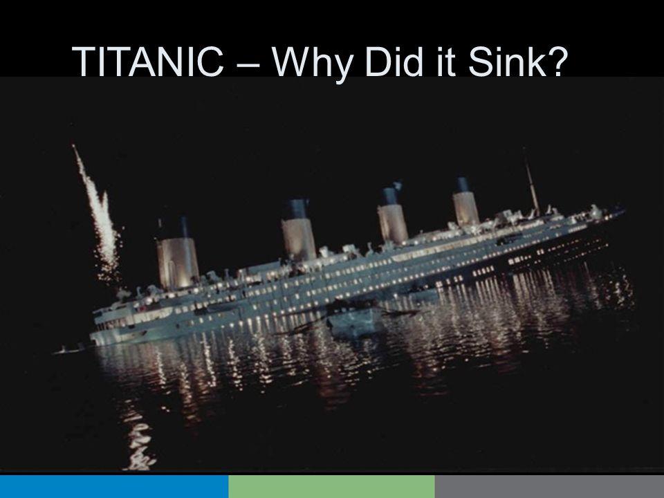 TITANIC – Why Did it Sink?