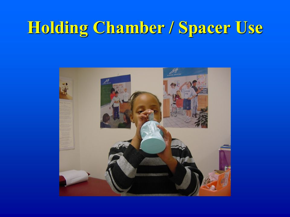 Holding Chamber / Spacer Use