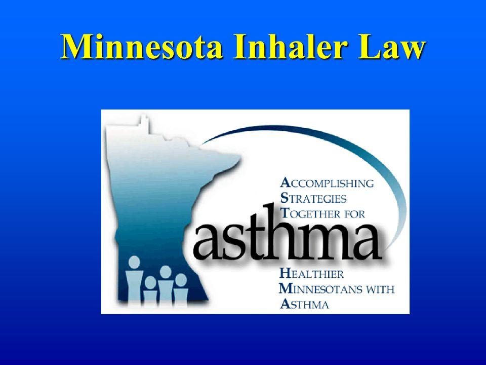 Minnesota Inhaler Law