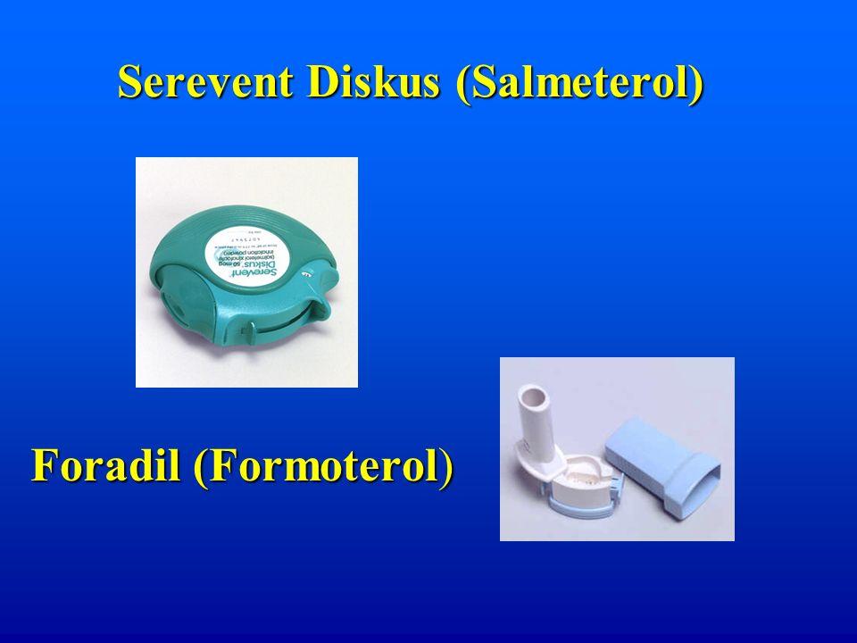 Serevent Diskus (Salmeterol) Foradil (Formoterol)
