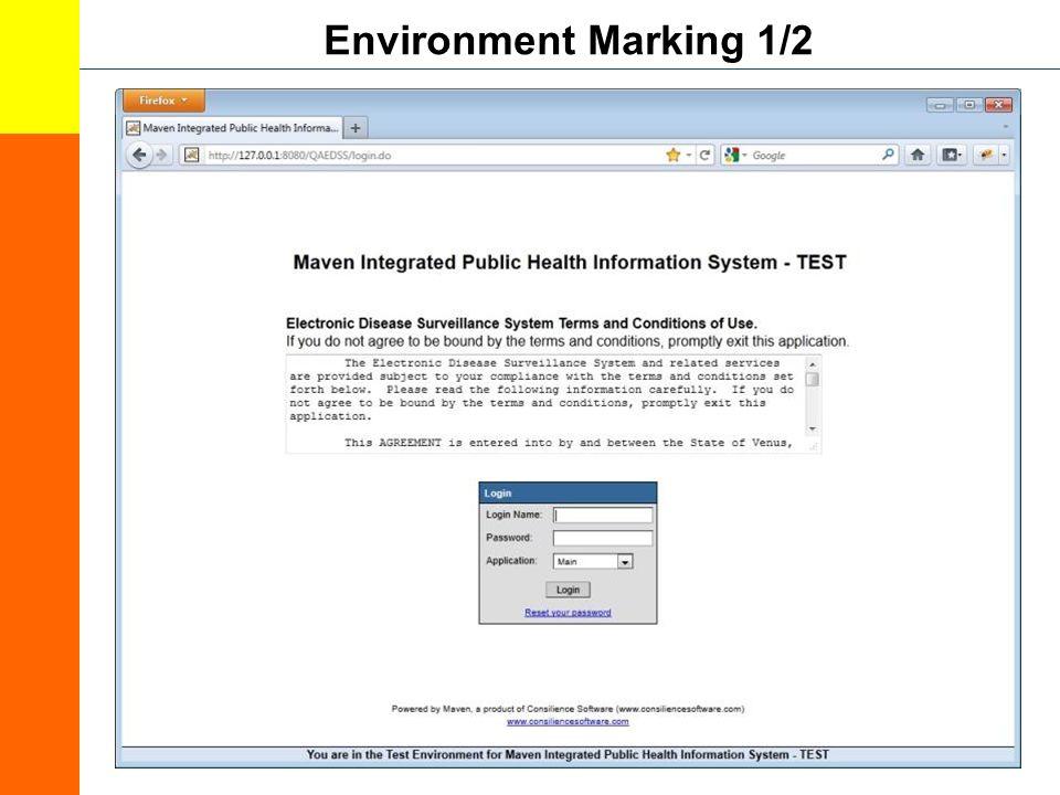 Environment Marking 1/2