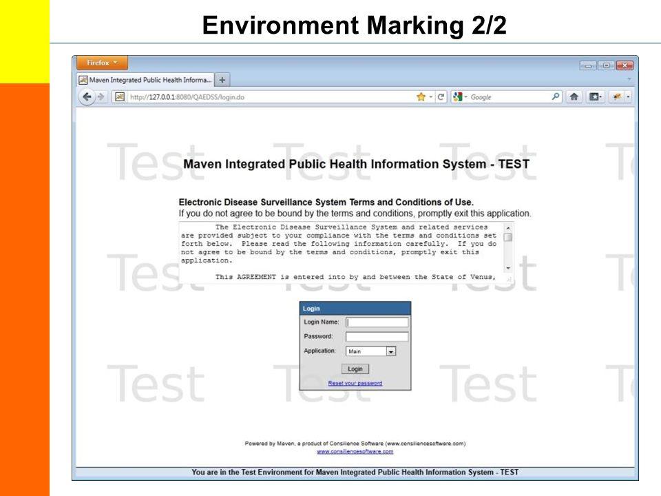 Environment Marking 2/2