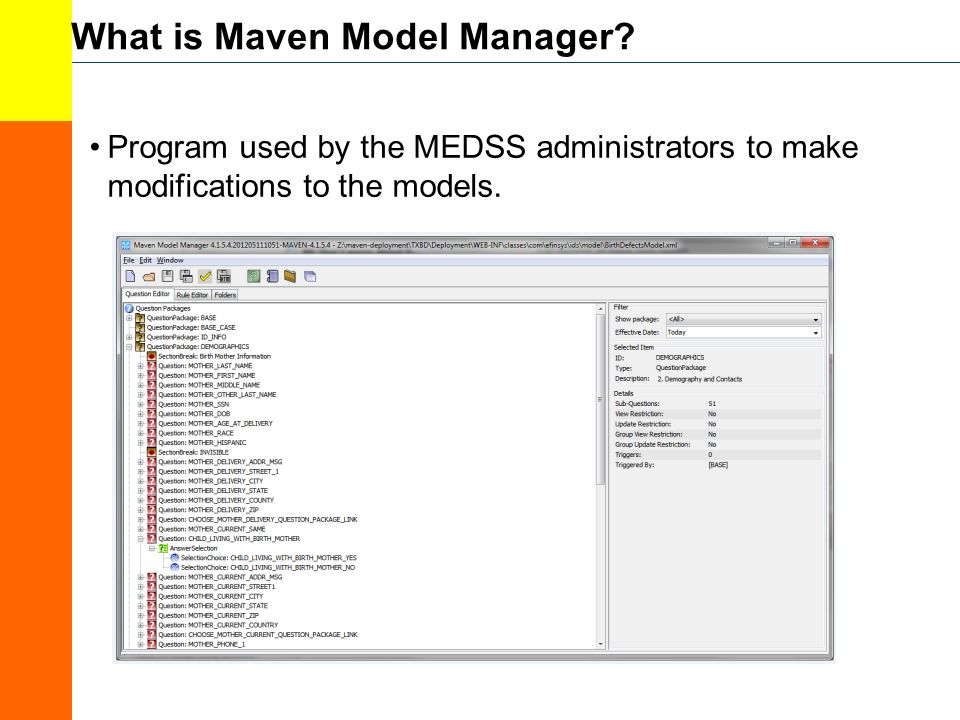 What is Maven Model Manager.
