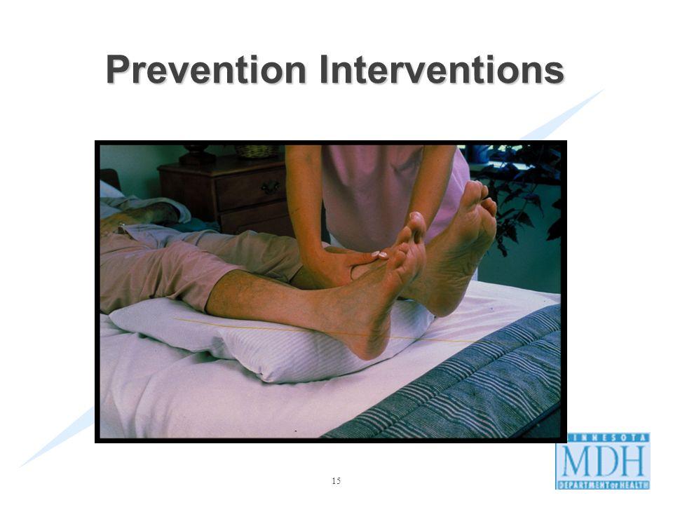 15 Prevention Interventions