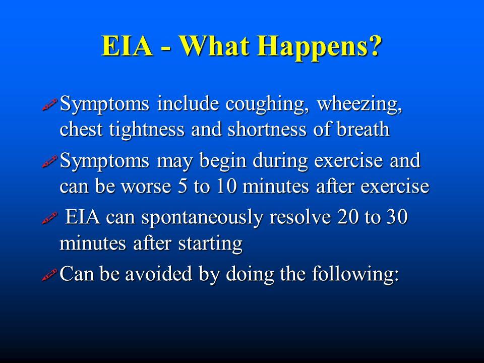 EIA - What Happens.