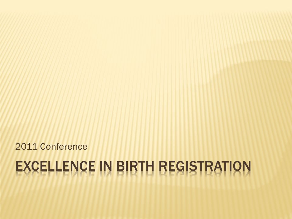 2011 Conference