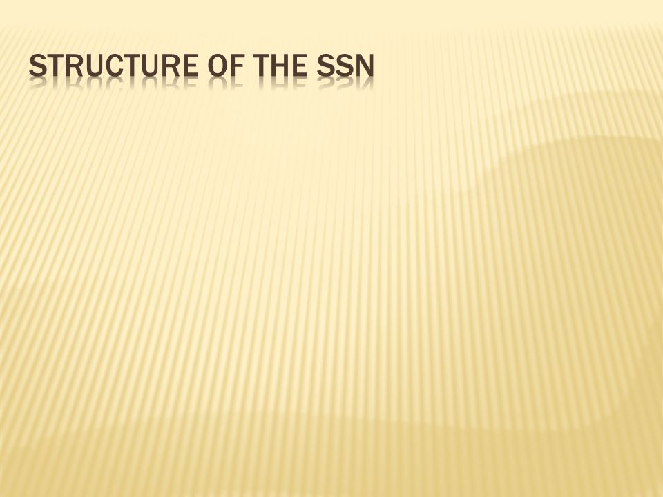 Group Number:The middle two digits of the SSN are the group number.