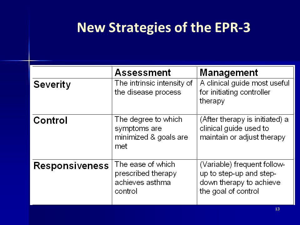 13 New Strategies of the EPR-3