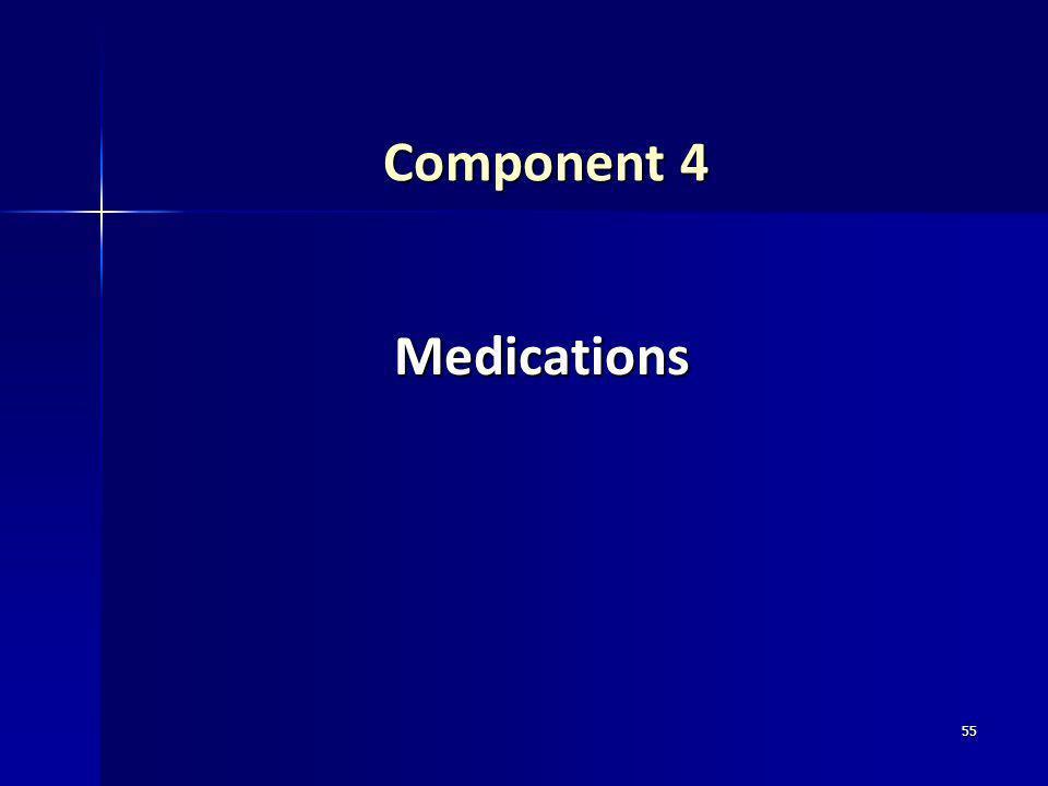 55 Component 4 Medications