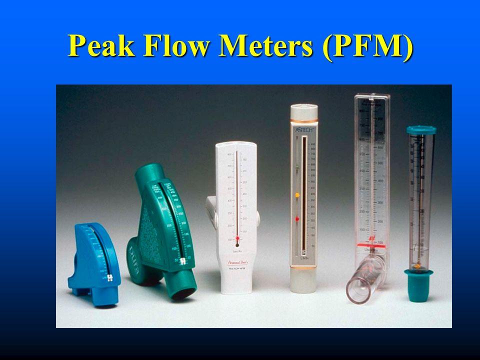 Peak Flow Meters (PFM)