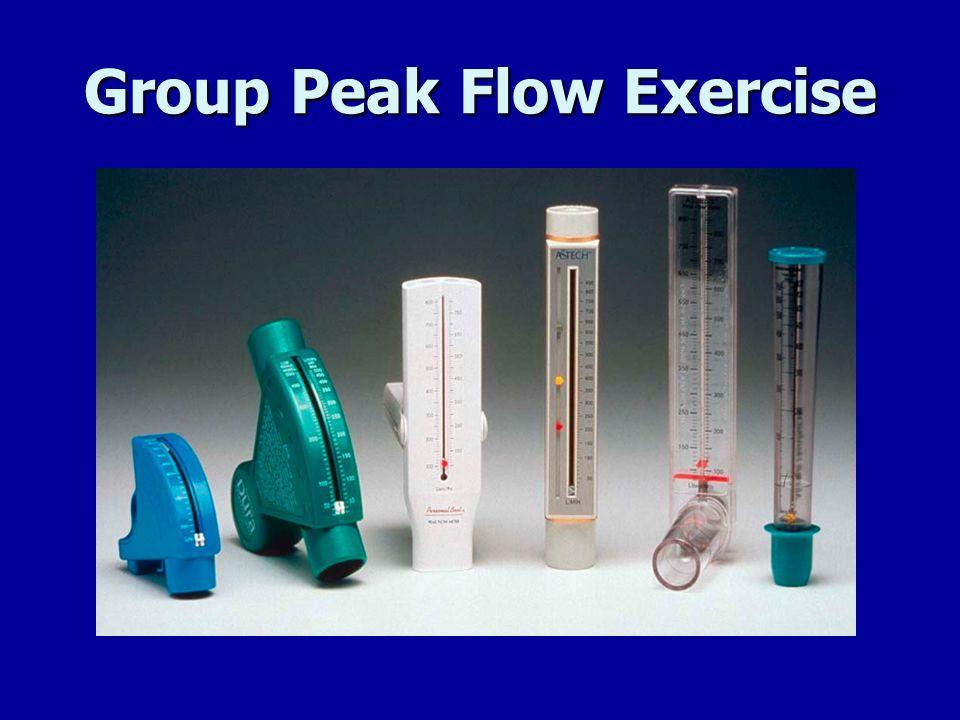 Group Peak Flow Exercise