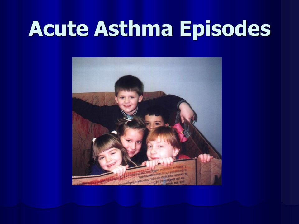 Acute Asthma Episodes