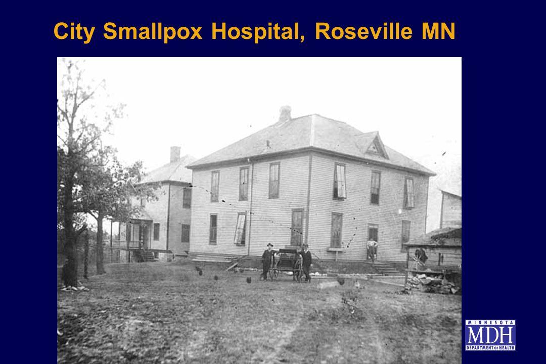 City Smallpox Hospital, Roseville MN