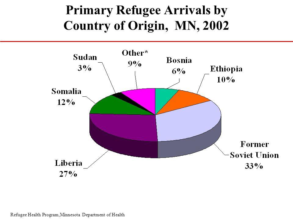Ethnicity pie chart *Other includes: Benin, Burma, Cambodia, Cameroon, Croatia, Cuba, the Gambia, Ghana, Hmong, Iraq, Kenya, Kosovo, Laos, Nigeria, Se