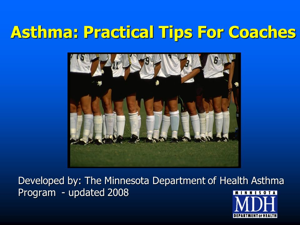 How Do I Handle An Asthma Episode On The Field/Rink/Gym.