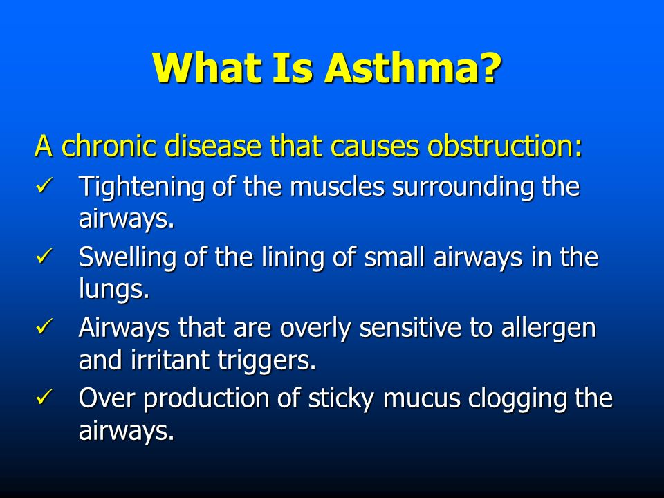 What Is Asthma.
