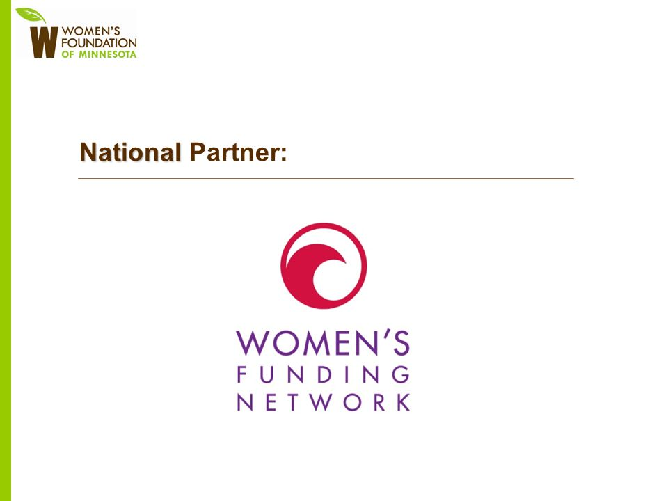 National National Partner: