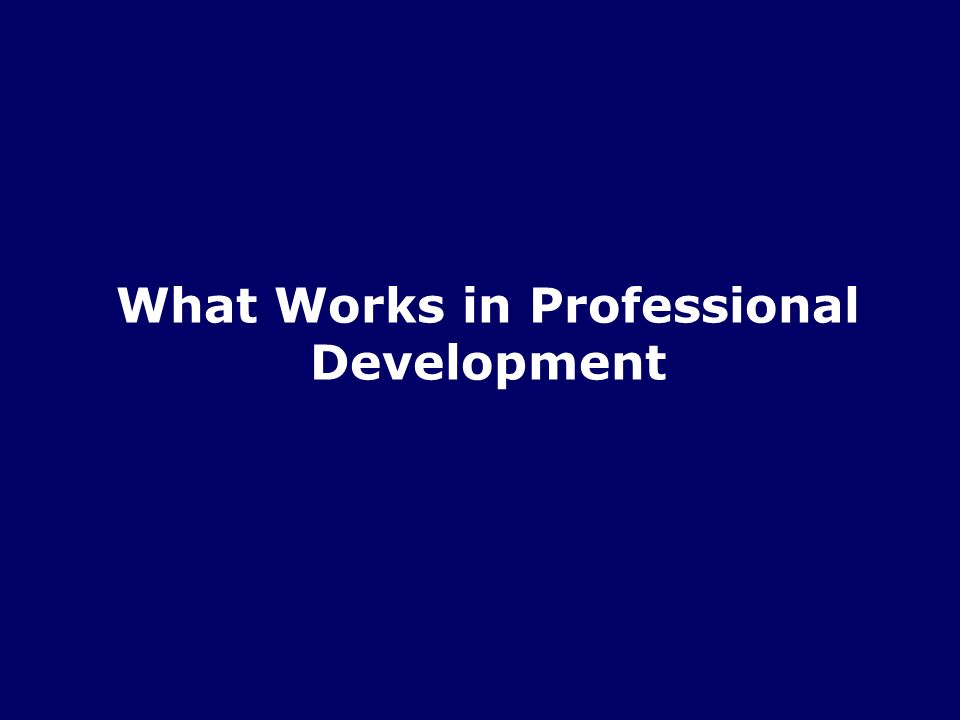 6/20 Turn and Talk What was your best professional development experience.
