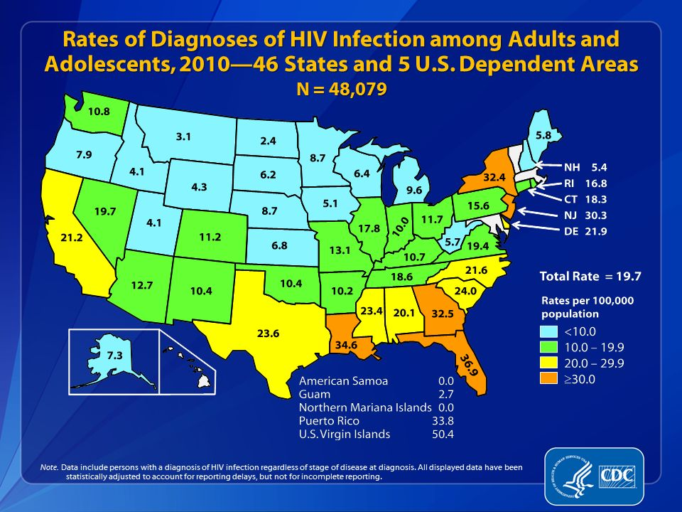 Data Source: Minnesota HIV/AIDS Surveillance System HIV/AIDS in Minnesota: Annual Review None 1 - 2 3 - 6 7 - 15 16 - 54 55 - 175 HIV Infections by County of Residence at Diagnosis, 2011 Number of Infections Total number = 292 *Counties in which a state correctional facility is located City of Minneapolis – 101 City of St.