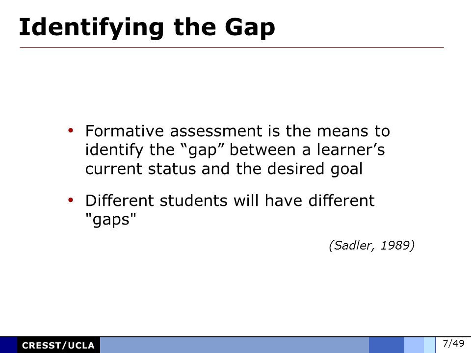 Formative Assessment Methods