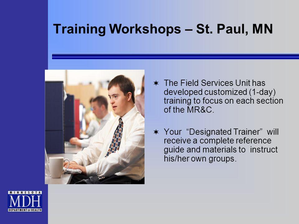 Training Workshops – St.