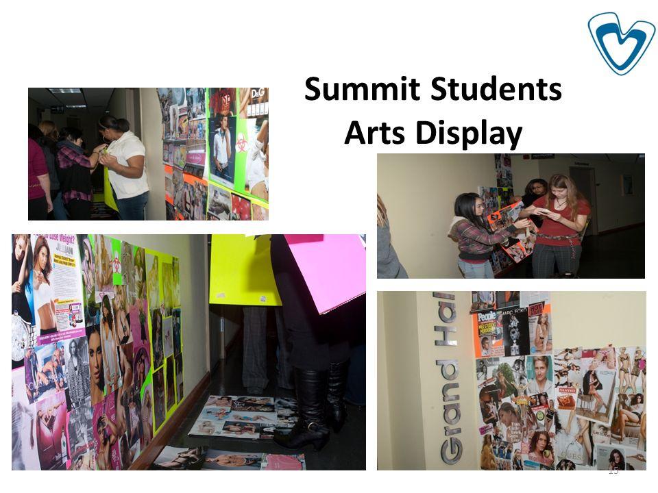 Summit Students Arts Display 15