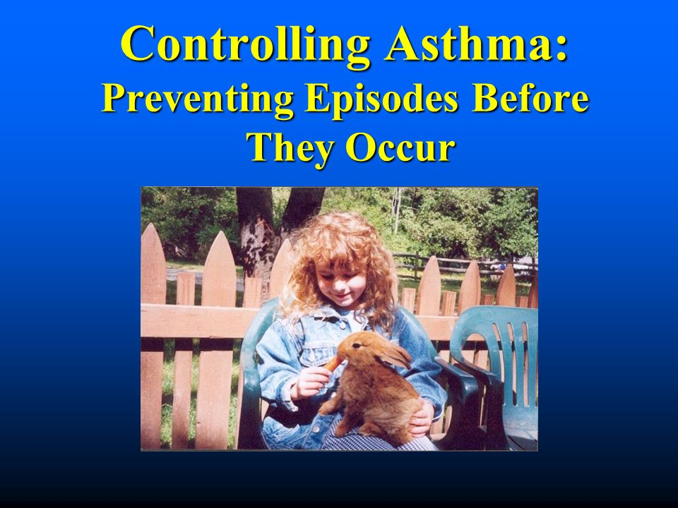 Is There A Cure For Asthma.