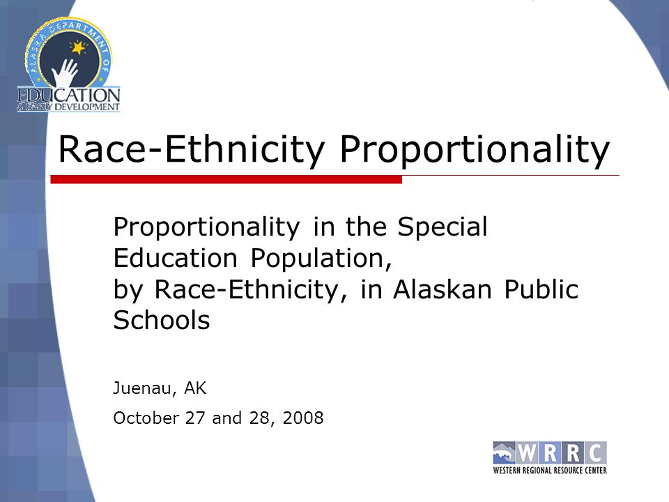 Step 2: Of those, in which ones disproportionality representation is the result of inappropriate identification.