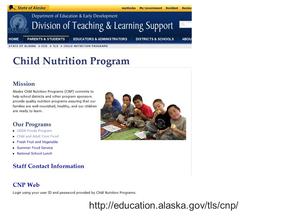 http://education.alaska.gov/tls/cnp/