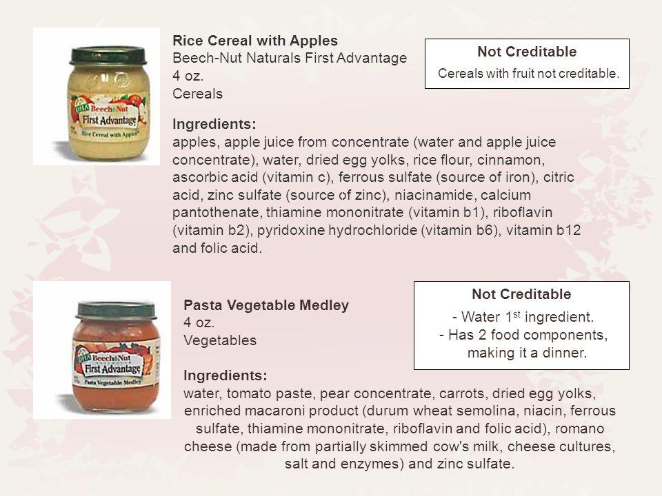 Pasta Vegetable Medley 4 oz.