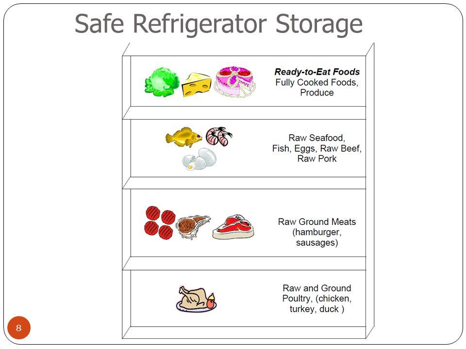 8 Safe Refrigerator Storage