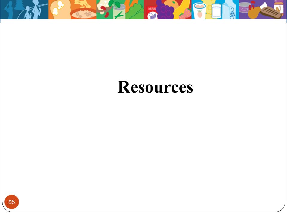 85 Resources