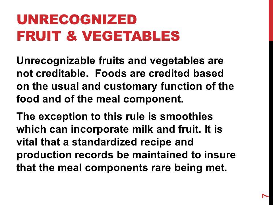 MEATS/MEAT ALTERNATES (LUNCH) 18 Lunch Meal Pattern Grades K-5 Grades 6-8 Grades 9-12 Meal Pattern Amount of Food Per Week (Minimum Per Day) Meats/Meat Alternates (oz eq) 8-10 (1)9-10 (1)10-12 (2)