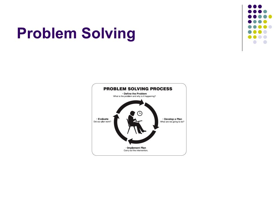 Which is better, a problem solving system or a standard treatment protocol.