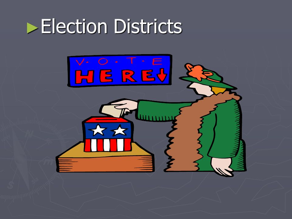 Election Districts Election Districts