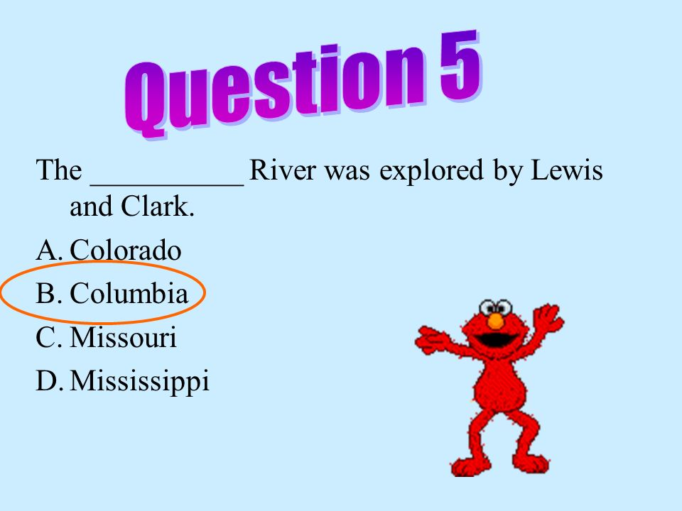 The _____________ Rivers were the transportation arteries for farm and industrial products. F. Mississippi & Missouri G. Columbia & Colorado F.Ohio &