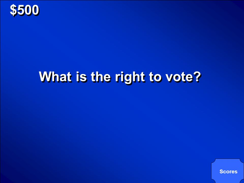 © Mark E. Damon - All Rights Reserved $500 The 15 th amendment