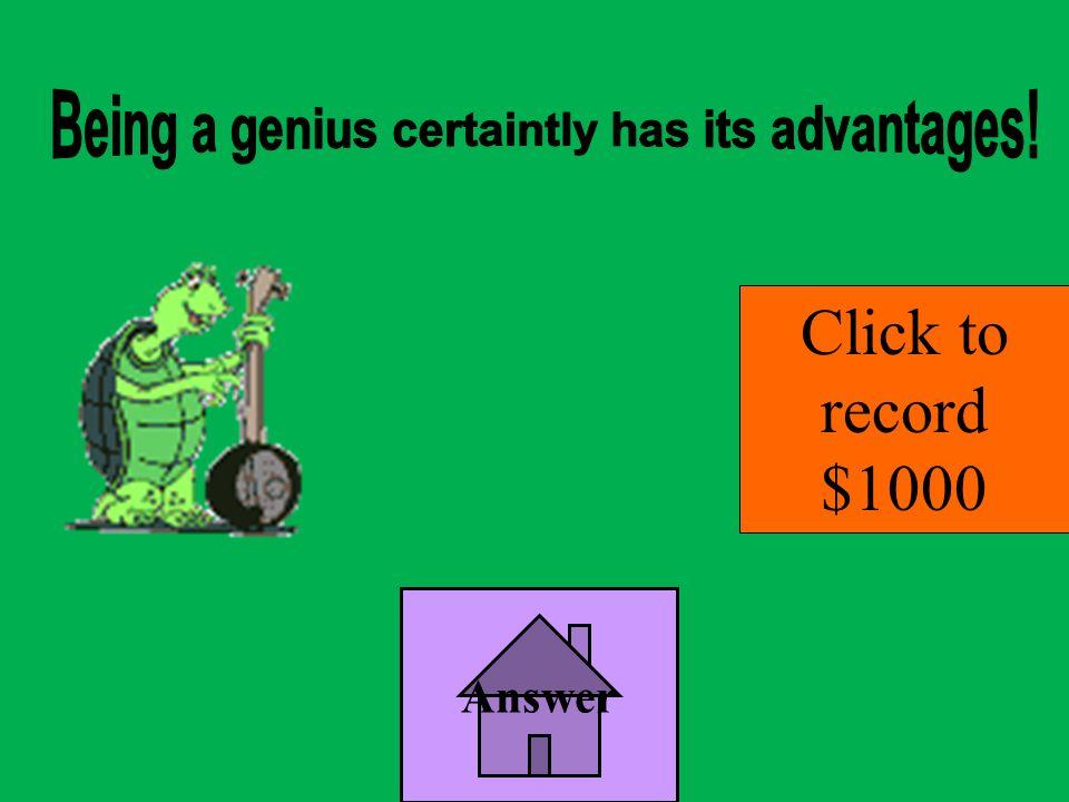 Answer 5 Topic 1 Bonus Jeopardy A.