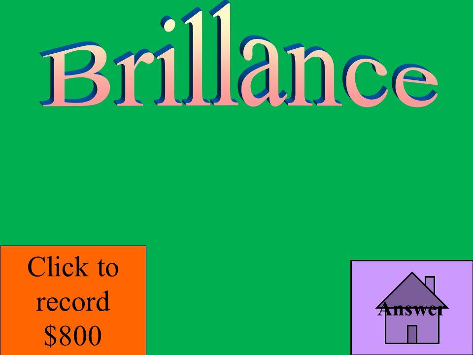 Answer 4 Topic 2 Bonus Jeopardy B. weathering
