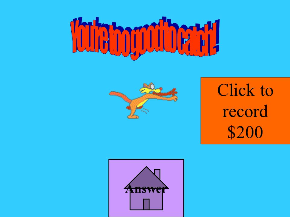 Answer Click to record $200