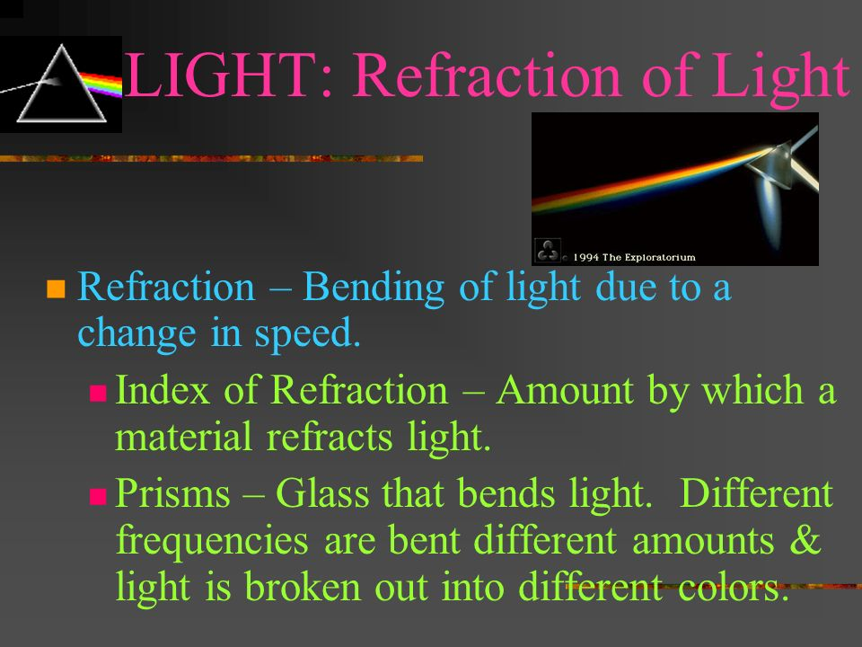 LIGHT: Particles or Waves? Wave Model of Light Explains most properties of light Particle Theory of Light Photoelectric Effect – Photons of light prod