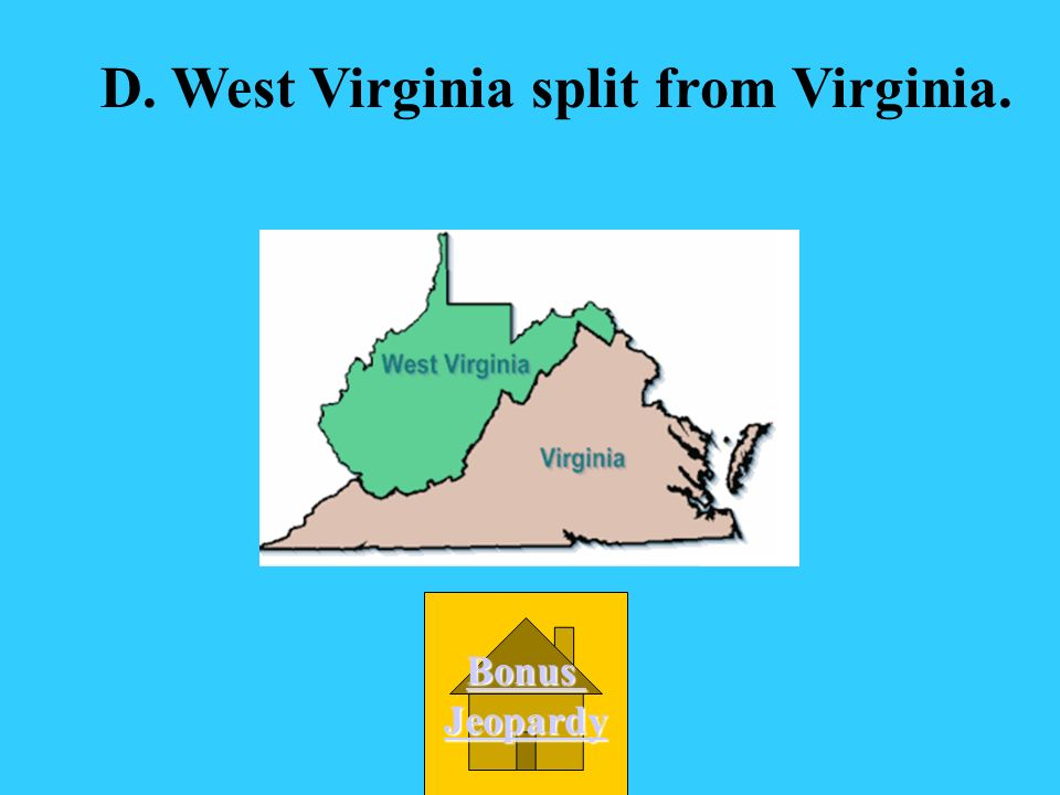 What event occurred when Virginia leaders could not agree on secession? A. Virginia wrote a new constitution. B. Virginia stayed with the Union. C. Vi