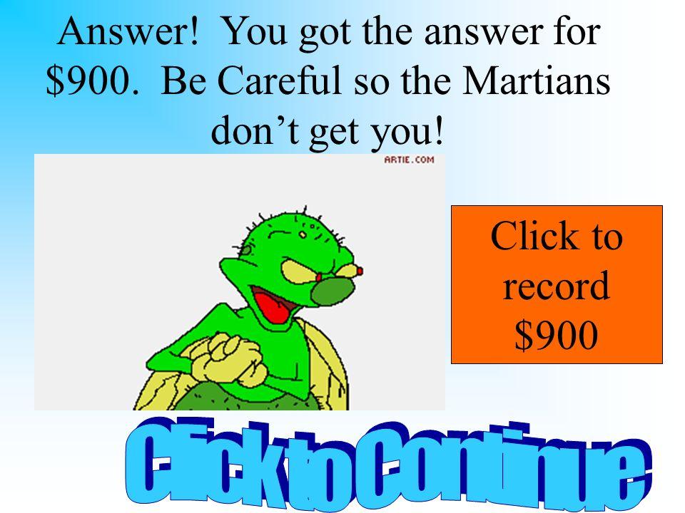 D.. Answer 9