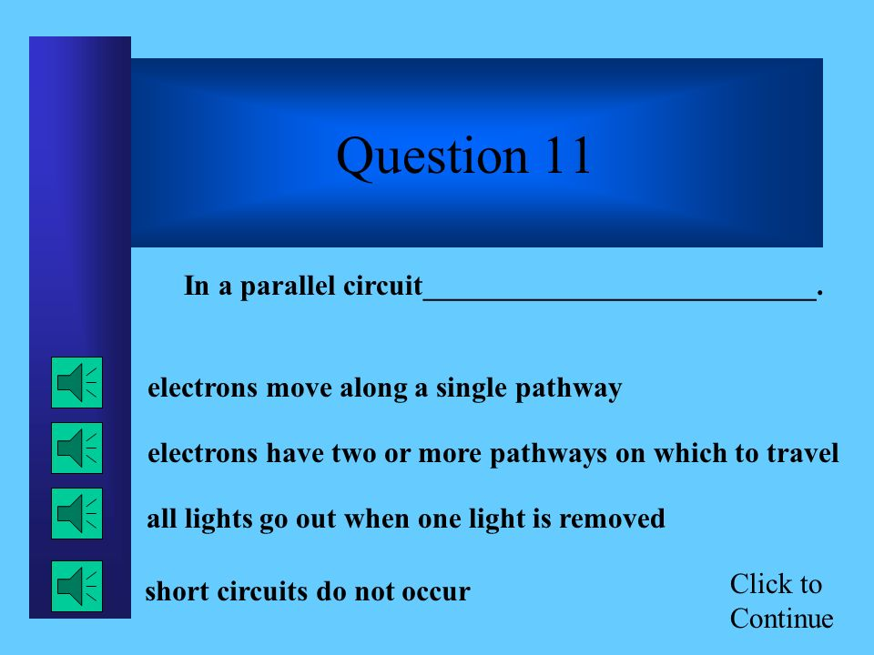Click to Continue Question 10 In Benjamin Franklins famous kite experiment, he proved that lightning is ______.