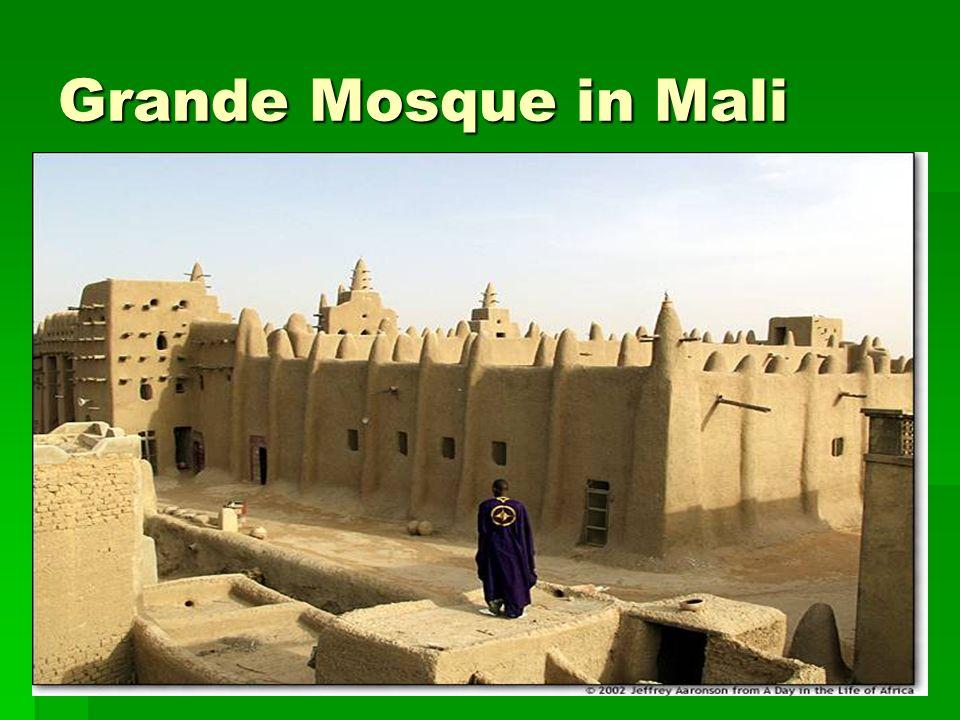 Grande Mosque in Mali